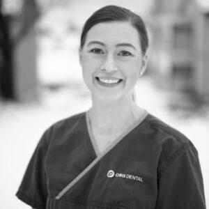 Tannlege Katarina Danielsen ved Oris Dental Stokke i Mo i Rana.