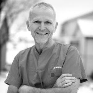 Tannlege Morten Henry Stokke ved Oris Dental Stokke i Mo i Rana.