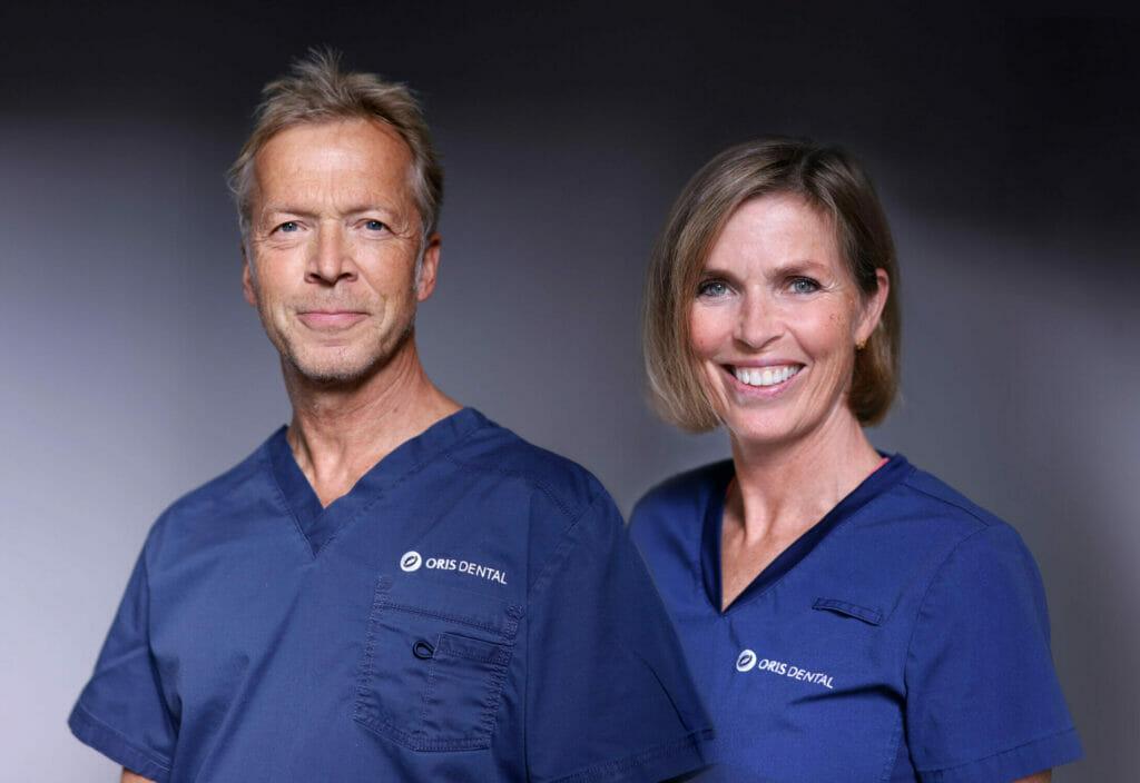 Tannlege Kirsten Holmbek og Bjørn-Olav Engebretsen flyttet inn på Oris Dental Homansbyen i september 2021.