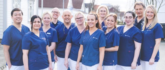 Tannleger, tannpleiere og spesialister ved Oris Dental Løkkeveien står klare når du trenger tannlege i Stavanger.