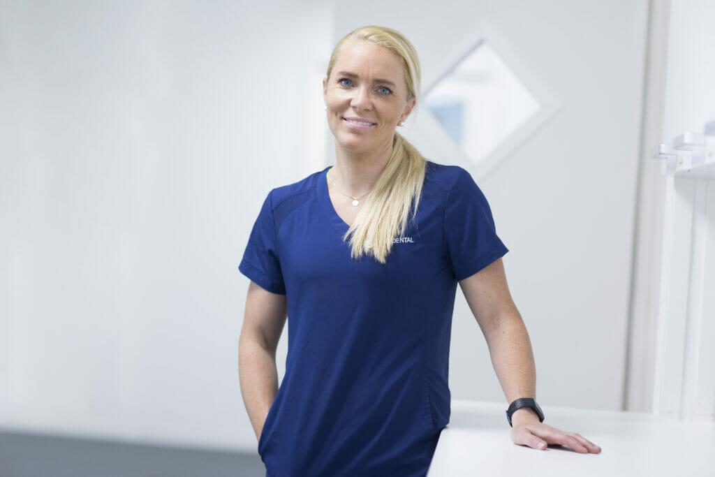 Tannpleier Julie Sørum ved Oris Dental Rommen.