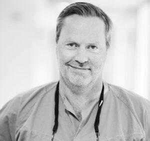 Tannlege Tore Berset ved Oris Dental Harstad.