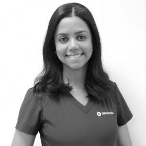 Tannlege Gabriela Martins Farias ved Oris Dental Kjeveortopedene i Arken.
