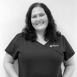 Tannlegesekretær Lene Bernes ved Oris Dental Kjeveortopedene i Arken.