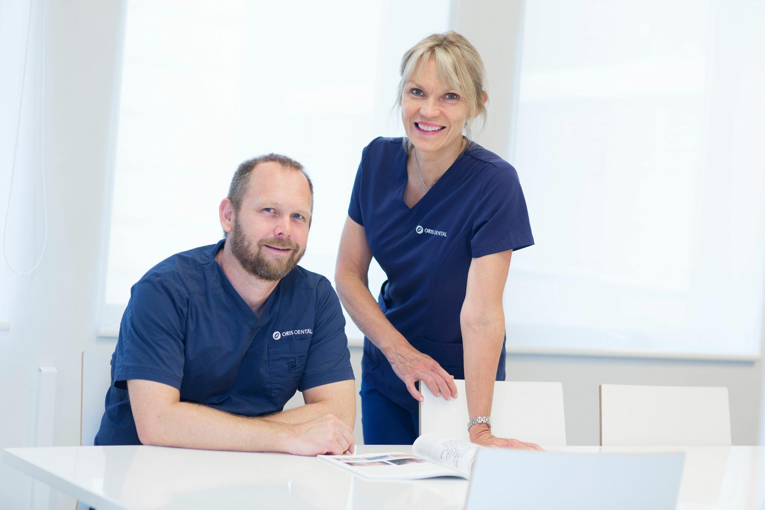 Tannlege i Oslo ved Oris Dental Homansbyen.